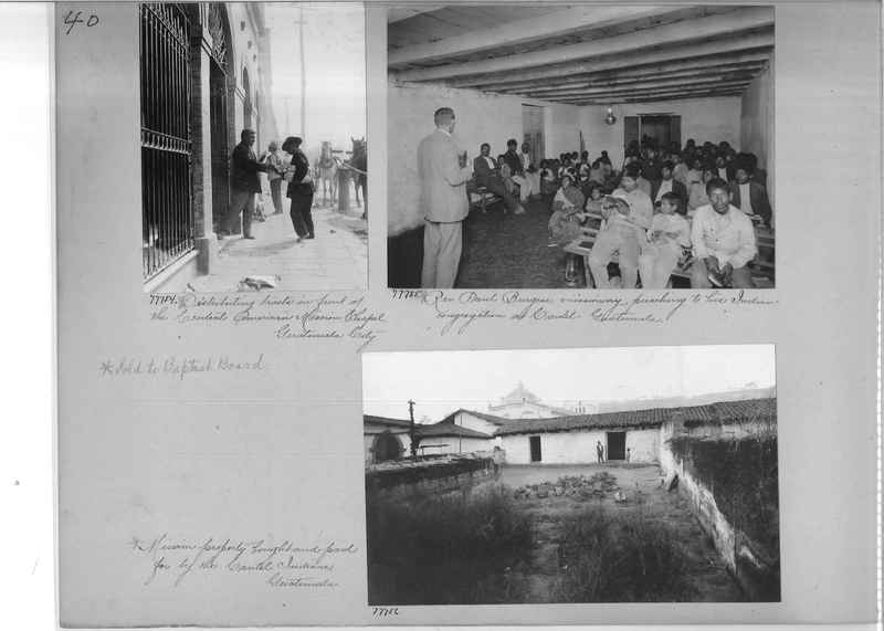 Mission Photograph Album - Panama #04 page 0040