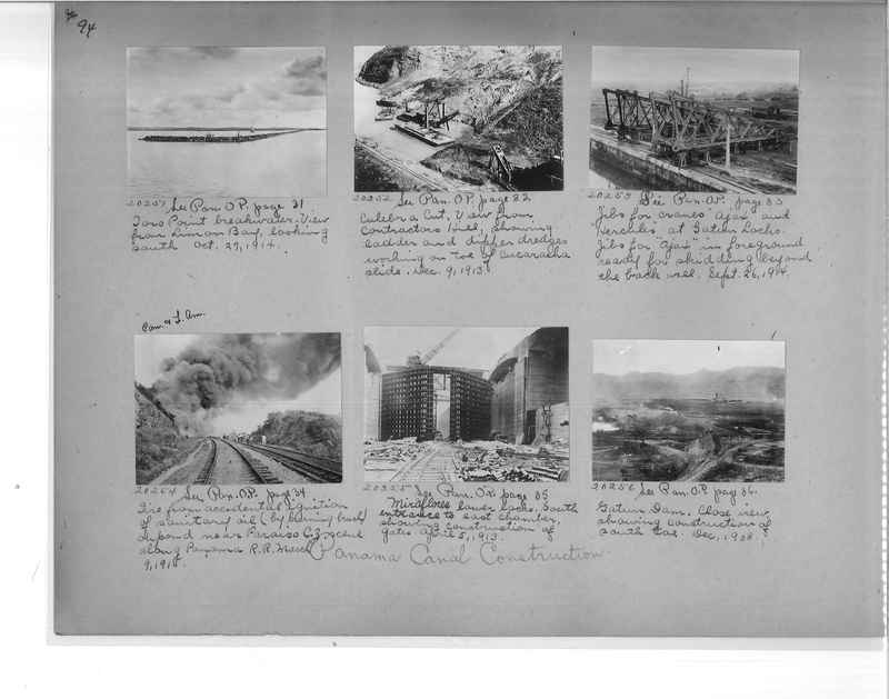 Mission Photograph Album - Panama #1 page  0094