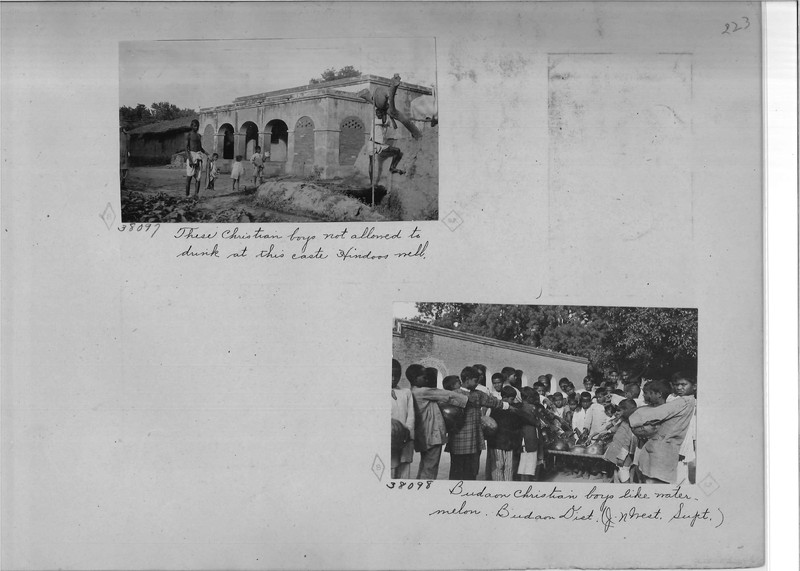 Mission Photograph Album - India - O.P. #02 Page 0223