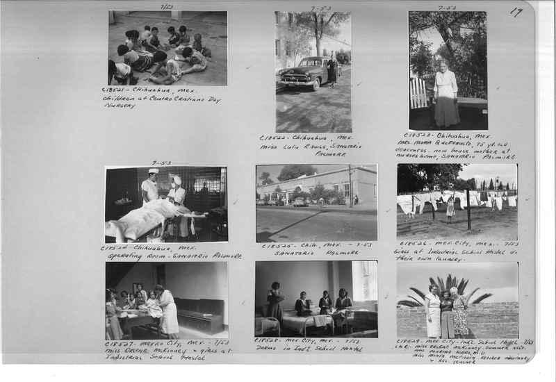 Mission Photograph Album - Mexico #09 Page 0017