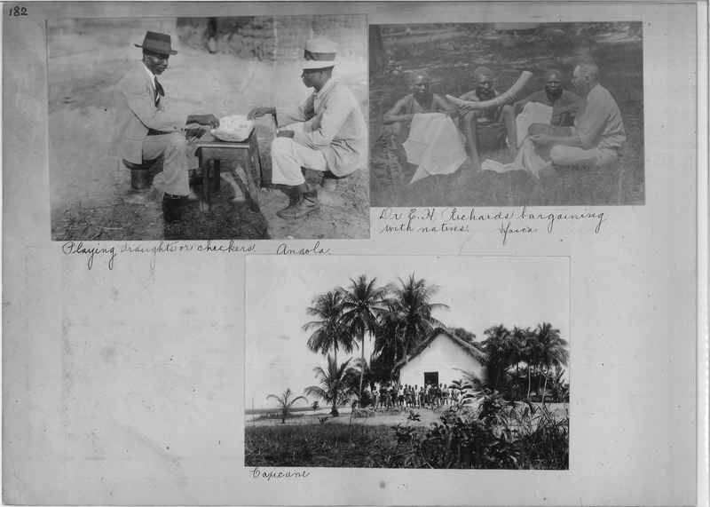 Mission Photograph Album - Africa O.P. #4 page 0182