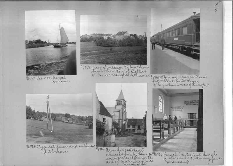 Mission Photograph Album - Europe #09 Page 0007