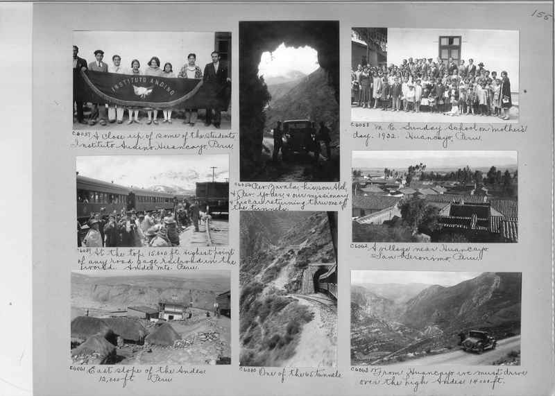 Misson Photograph Album - South America #8 page 0155