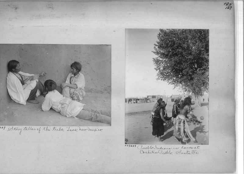 Mission Photograph Album - Indians #2 page_0127