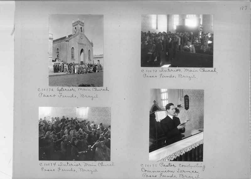 Misson Photograph Album - South America #8 page 0187