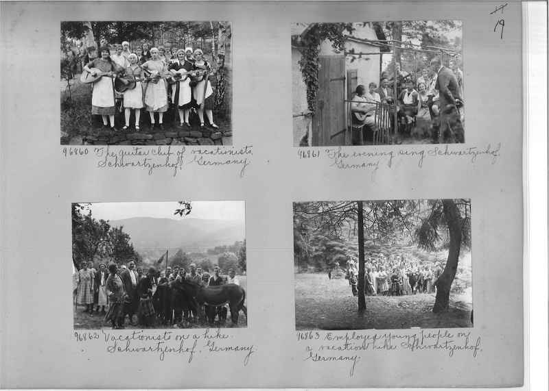 Mission Photograph Album - Europe #09 Page 0019