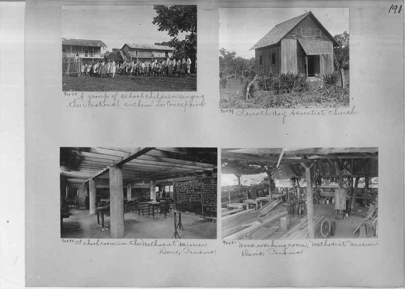 Mission Photograph Album - Panama #04 page 0191