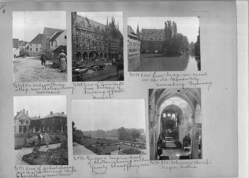 Mission Photograph Album - Europe #09 Page 0008