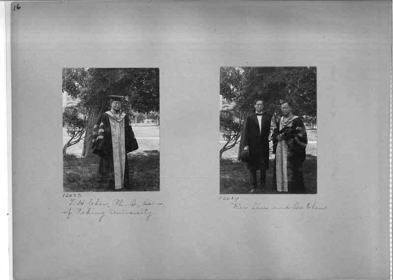 Mission Photograph Album - Portraits #1 page 0016