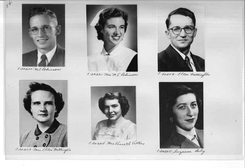 Mission Photograph Album - Portraits #09 Page 0054