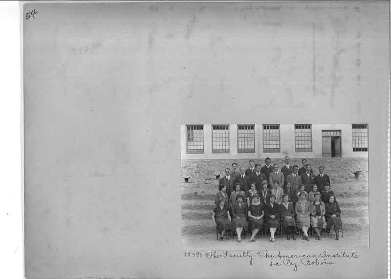 Misson Photograph Album - South America #8 page 0054