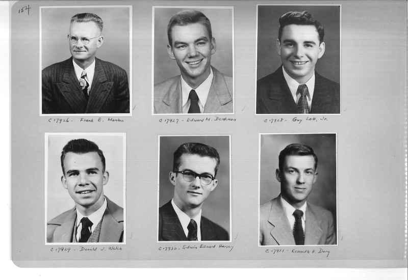 Mission Photograph Album - Portraits #07 Page 0154