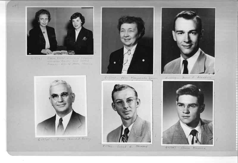 Mission Photograph Album - Portraits #07 Page 0144