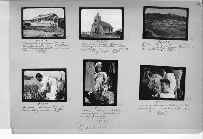 Mission Photograph Album - Korea #6 page 0053