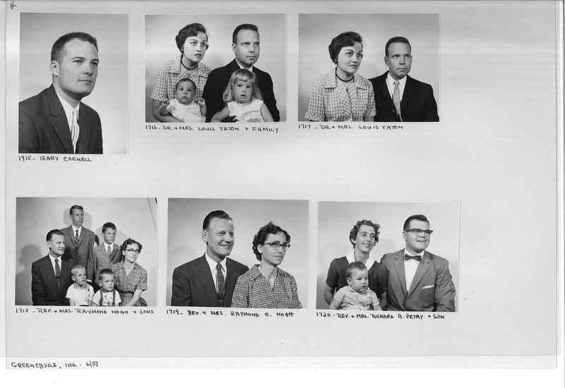 Mission Photograph Album - Portraits #12 Page 0004