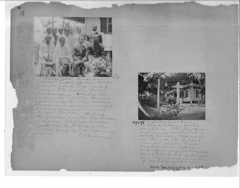 Mission Photograph Album - Malaysia O.P. #1 page 0018
