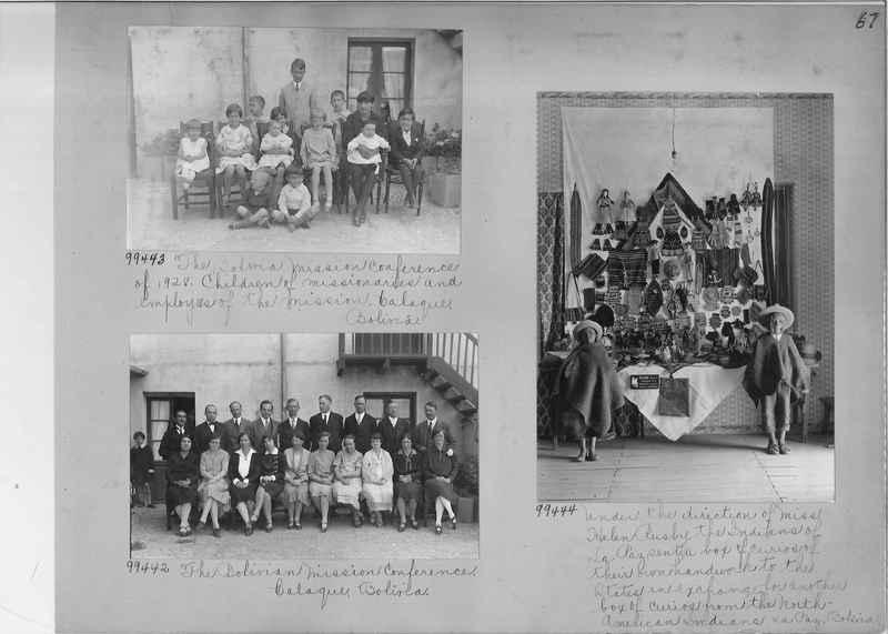 Misson Photograph Album - South America #8 page 0067