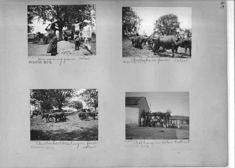 Mission Photograph Album - India #10 Page 0017
