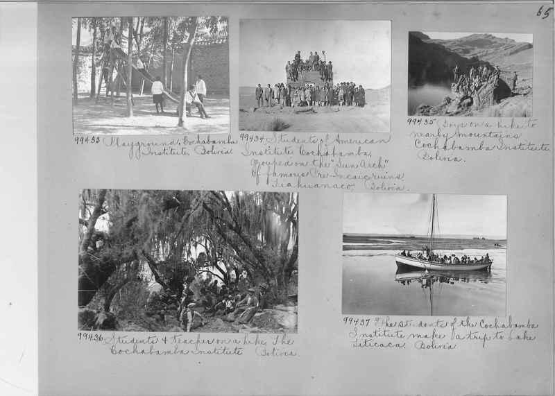 Misson Photograph Album - South America #8 page 0065