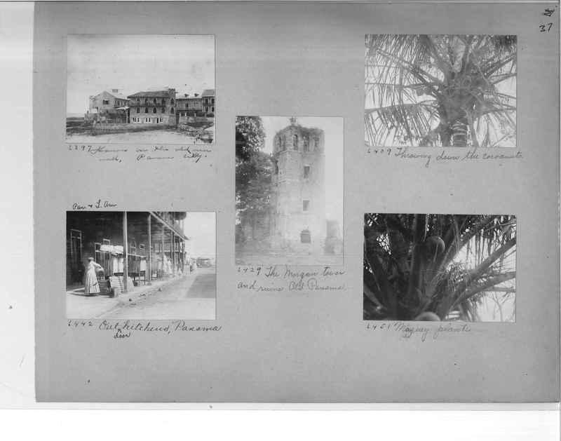 Mission Photograph Album - Panama #1 page  0037