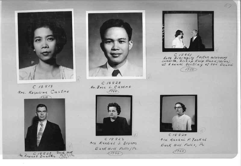 Mission Photograph Album - Portraits #07 Page 0067