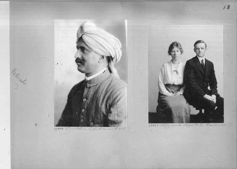 Mission Photograph Album - Portraits #3 page 0013