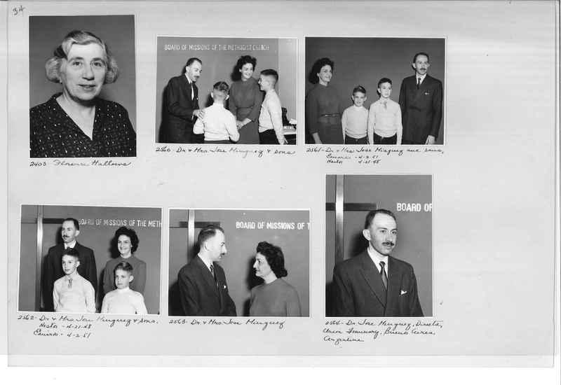 Mission Photograph Album - Portraits #12 Page 0034