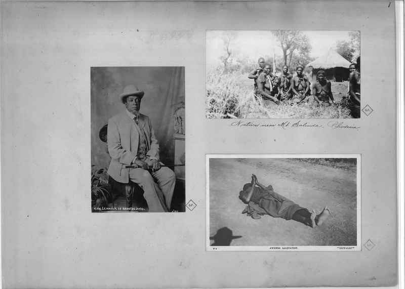Mission Photograph Album - Africa O.P. #4 page 0001