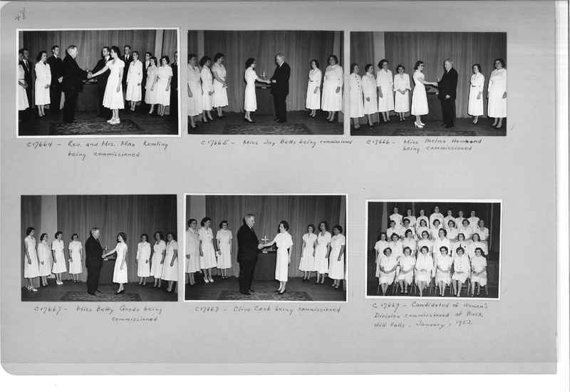 Mission Photograph Album - Portraits #13 Page 0048