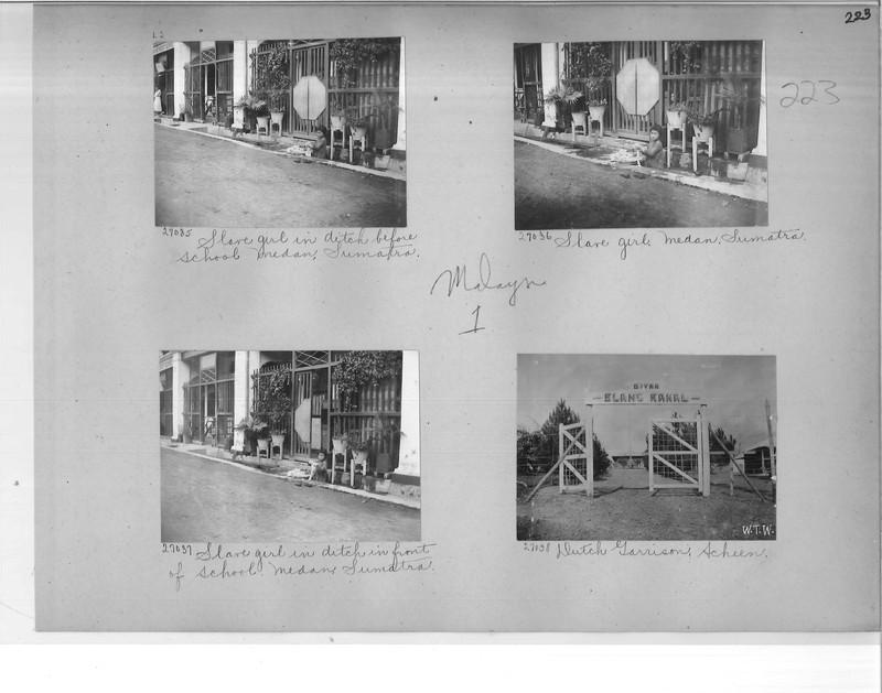 Mission Photograph Album - Malaysia #1 page 0223