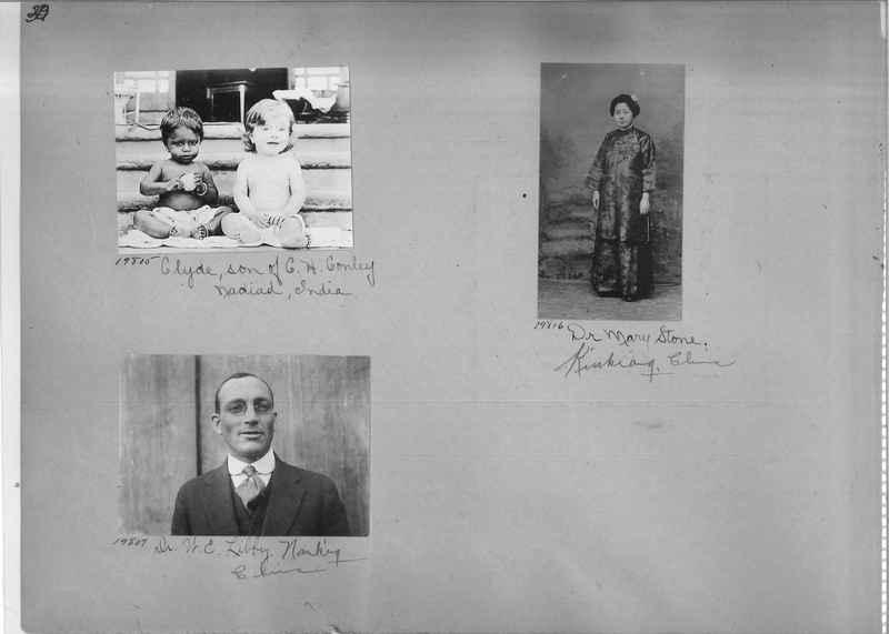 Mission Photograph Album - Portraits #1 page 0030