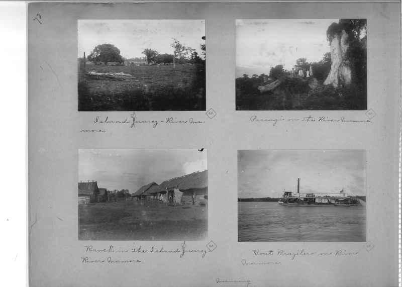 Mission Photograph Album - South America O.P. #1 page 0072
