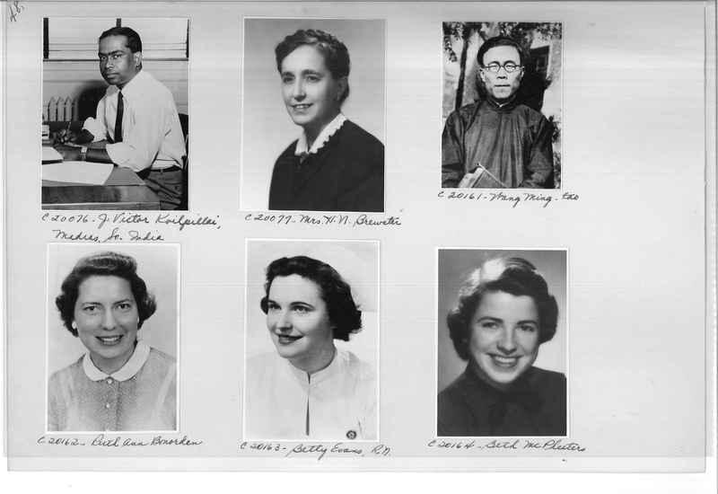 Mission Photograph Album - Portraits #09 Page 0048