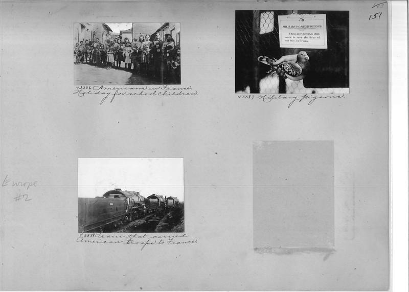 Mission Photograph Album - Europe #02 Page 0151