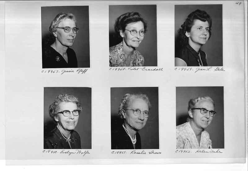 Mission Photograph Album - Portraits #09 Page 0027