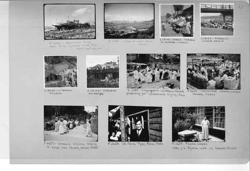 Mission Photograph Album - Korea #6 page 0085
