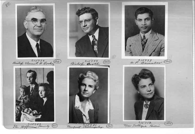 Mission Photograph Album - Portraits #07 Page 0080