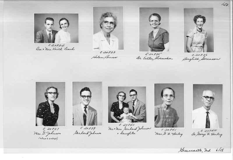 Mission Photograph Album - Portraits #09 Page 0123