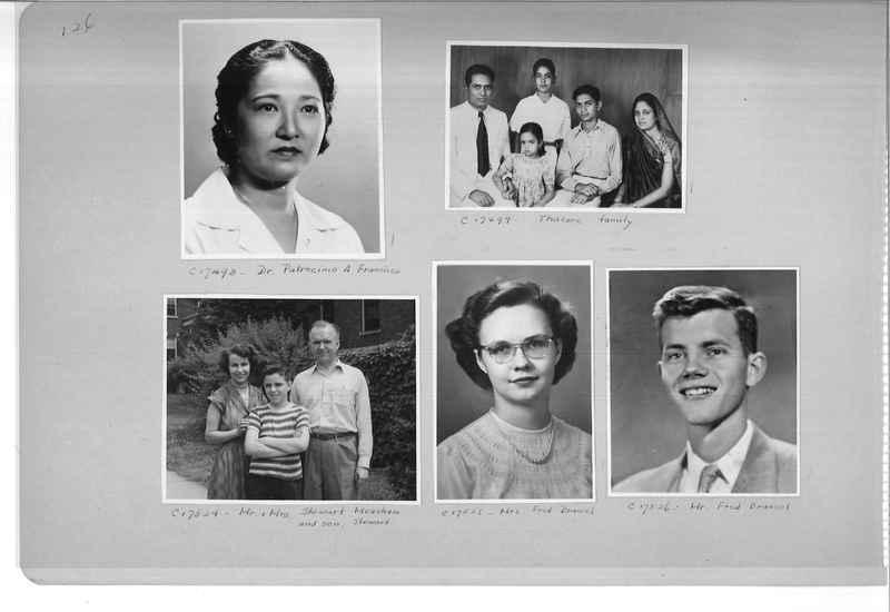 Mission Photograph Album - Portraits #07 Page 0126