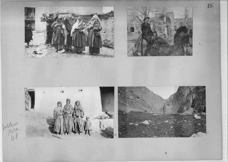 Mission Photograph Album - Western Asia - O.P. - #01 page_0085