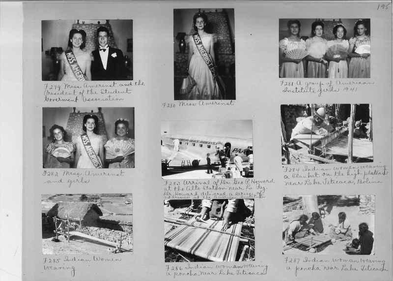 Misson Photograph Album - South America #8 page 0195