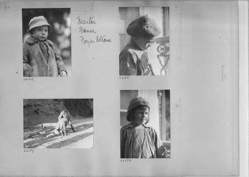 Mission Photograph Album - Europe #05 Page 0044