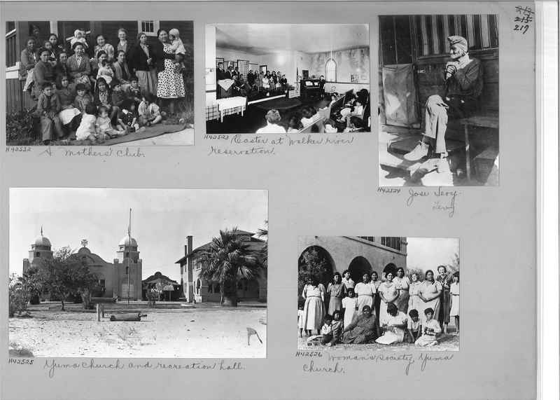Mission Photograph Album - Indians #2 page_0217