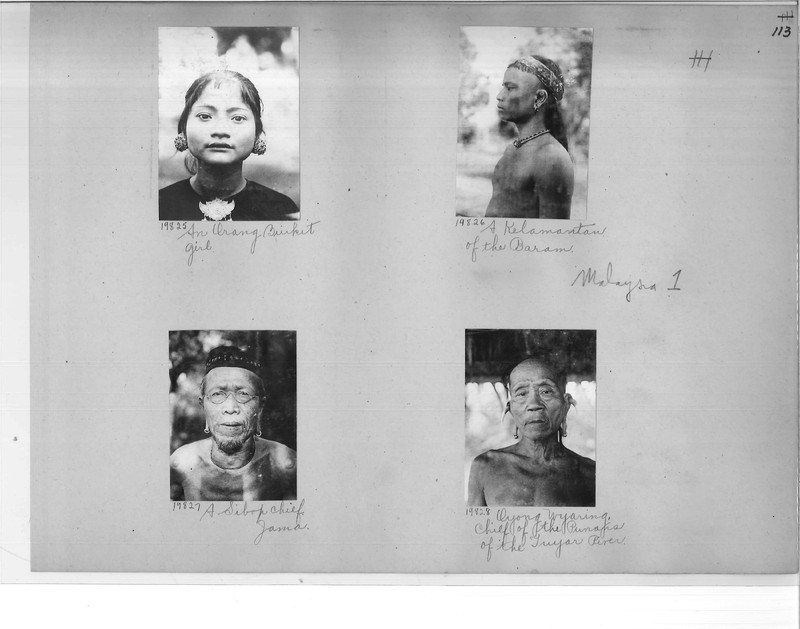 Mission Photograph Album - Malaysia #1 page 0113