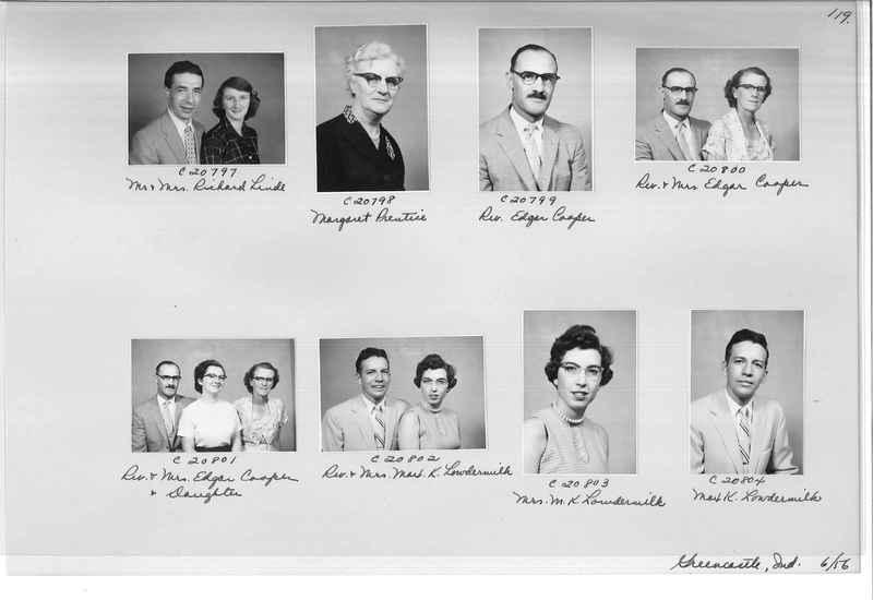 Mission Photograph Album - Portraits #09 Page 0119