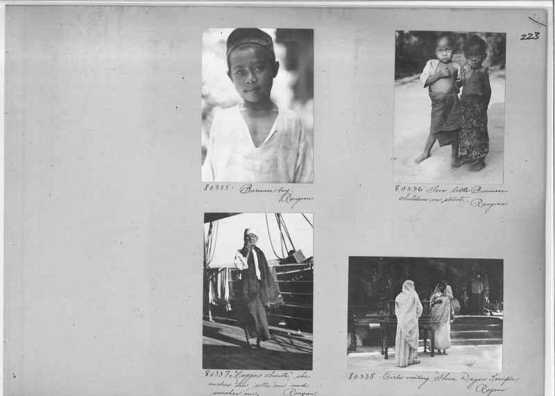 Mission Photograph Album - Burma #1 page 0223