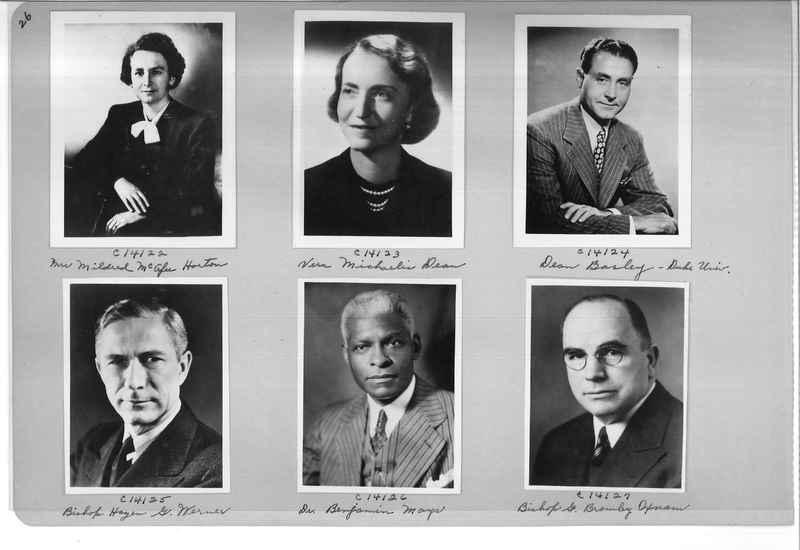 Mission Photograph Album - Portraits #07 Page 0026