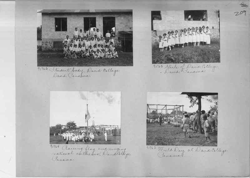 Mission Photograph Album - Panama #04 page 0209