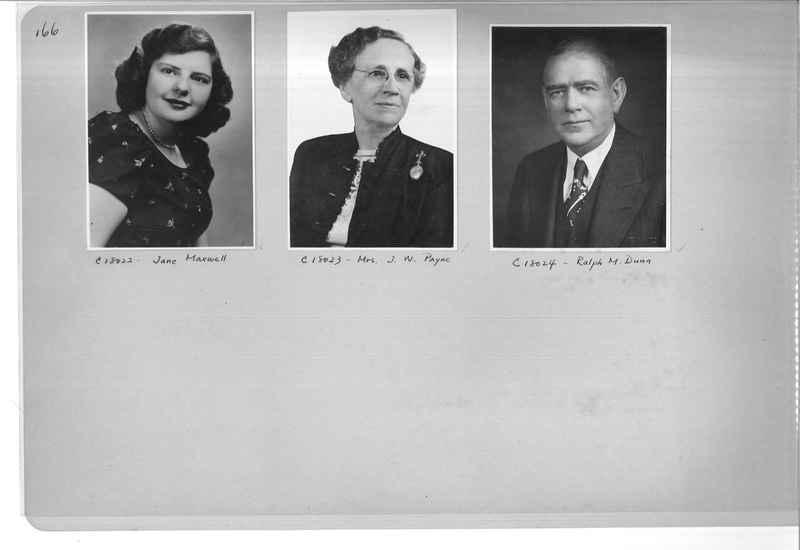 Mission Photograph Album - Portraits #07 Page 0166