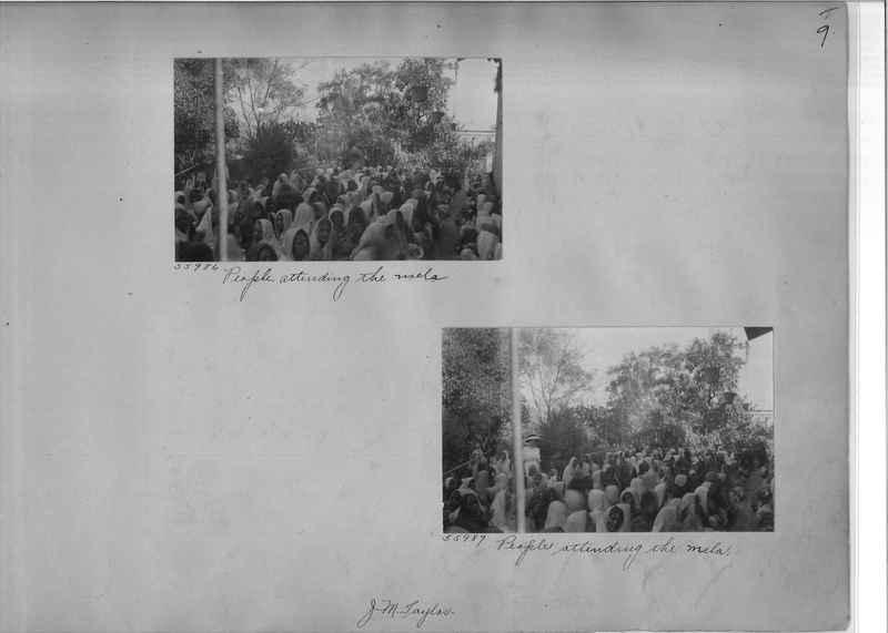 Mission Photograph Album - India #08 Page 0009